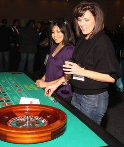 New Orleans Roulette Table For Rent at Louisiana Casino Party