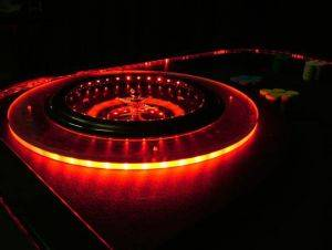 Lighted Roulette Table Rentals in San Antonio