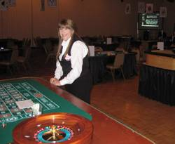 Portland Casino Fundraiser Party-Oregon Casino Equipment Rentals