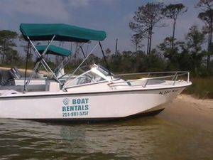 18ft Runabout Boats for Rent in Orange Beach, Alabama