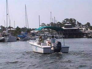 18ft Runabout Boats for Rent-Alabama Boat Rental in Orange Beach