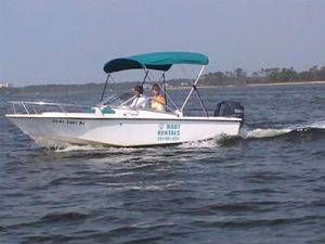 18ft Runabout Boats Rental in Orange Beach, AL