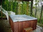 Captains Cottage Outdoor Hot Tub