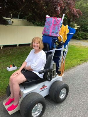 Motorized Beach Wheelchair Rentals | Jersey Shore