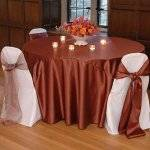 Satin Table Covering