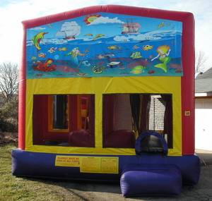 Louisville Inflatable Bouncer Rentals - Under the Sea Moonwalk For Rent - Kentucky Party and Event Planning
