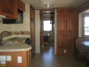 Image of Kitchen in the RV