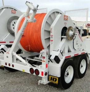 Underground Stringing Equipment For Rent North Carolina