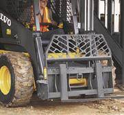 Skidsteer Forklift Attachment Rental In Merced, CA