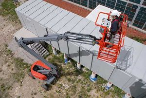 skyjack articulating aerial lift model SJ51AJ