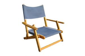 Small Wooden Beach Chair