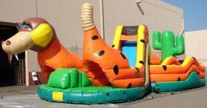 Louisville Inflatable Bouncer Rentals - 90 Foot Rattler  Moonwalk For Rent - Kentucky Party and Event Planning