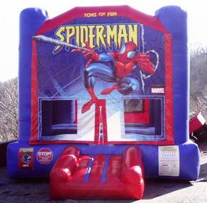 Louisville Inflatable Bouncer Rentals - Spider - Man Moonwalk For Rent - Kentucky Party and Event Planning