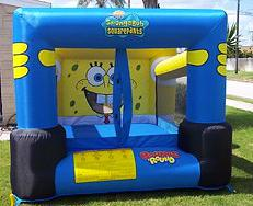 Kids SpongeBob Themed Inflated Bounce House