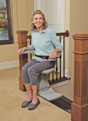 Stair Lift With Seat Belt