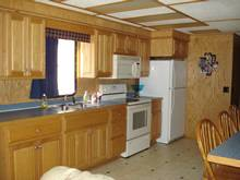 Kitchen on the Star Ship II Houseboat For Rent in Dale Hollow Lake, TN