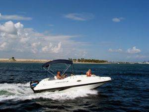 Riviera Beach Boat Rentals - 21ft Deck Boat for Rent - Florida Rental Watercraft