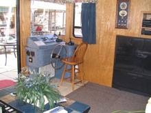 Inside the Star Ship II House Boat Rental in Dale Hollow Lake, Tennessee