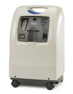 Perfecto2 V Invacare Oxygen Concentrator With Wheels