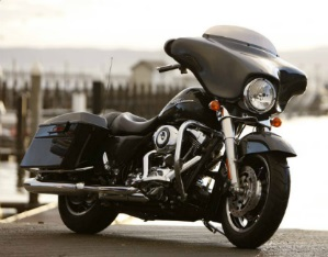 HD Street Glide Motorcycle