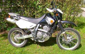 Suzuki 650 Dual Sport Motorcycle Rentals in Gatlinburg