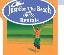 Just For The Beach Rentals Logo in North Carolina
