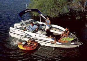 Deck Boat Rentals on Lake Michigan, Michigan