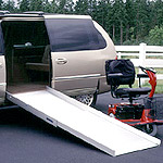 Suitcase Ramp for Mini or Full-Size Vans