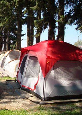 Idaho Tent Camping Sites For Rent - Coeur d'Alene Campsite Rentals