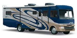 exterior of rv for rent