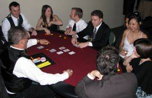 Texas Hold Em Table For Rent in New Orleans