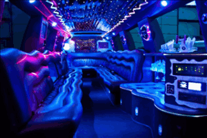 Cadillac Escalade Limo Rental Interior