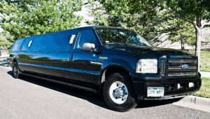 Ford Excursion Limo Rental Exterior