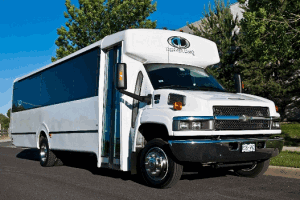 GMC Party Bus Rental Exterior