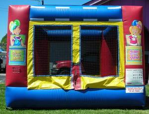 Louisville Inflatable Bouncer Rentals - Toddler  Bounce House Moonwalk For Rent - Kentucky Party and Event Planning