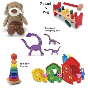 Toys Choosen According to Age