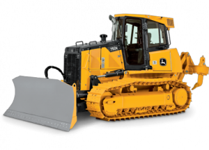 John Deer Manufactured Track Dozer with a 13ft Blade Width