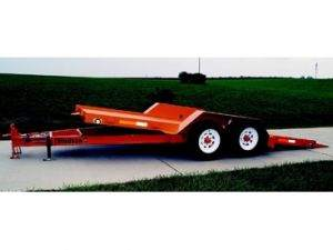 Tilt Trailer with Dual Axle