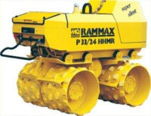 Roller Compactor with Remote Control for Operator Safety