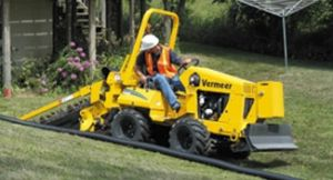 Trenching Machinery Capable of Digging to a Depth of 48
