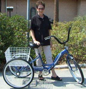 Trike Bicycle for Rental in Hilton Head Island, SC.