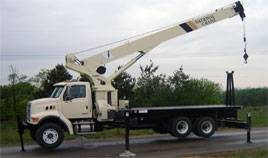 Texas Industrial Boom Cranes for Rent