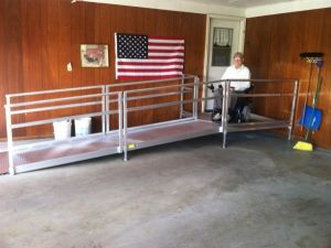 Handicap Ramp Rentals Eau Claire Residential Modular Ramp