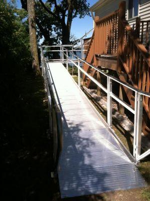 Handicap Ramp Rentals Minneapolis Residential Modular Ramp