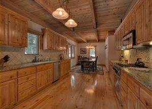 Home Rentals Kitchen with Granite Counter Tops in Lake Tahoe