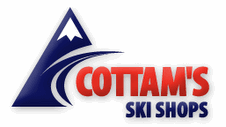 Taos Ski Valley COTTAM'S SKI SHOPS logo