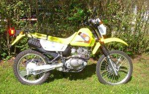 Suzuki DR 200 Dual Sport Motorcycle Rentals in Gatlinburg
