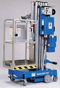 Electric Man Lift Rental In Oklahoma City, Oklahoma