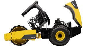 Volvo SD116F Padfoot Vibratory Compactor with 84