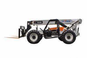 Milwaukee Reach Forklift Rental-Rough Terrain Forklift Booms